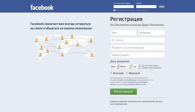 Категория социальные сети